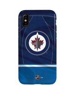 Winnipeg Jets Jersey iPhone X Pro Case
