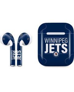 Winnipeg Jets Lineup Apple AirPods Skin