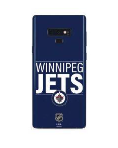 Winnipeg Jets Lineup Galaxy Note 9 Skin