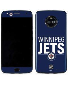 Winnipeg Jets Lineup Moto X4 Skin