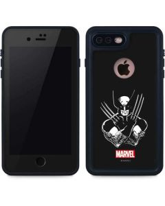 Wolverine Black and White iPhone 8 Plus Waterproof Case