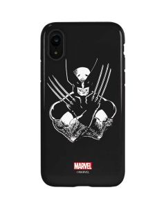 Wolverine Black and White iPhone XR Pro Case