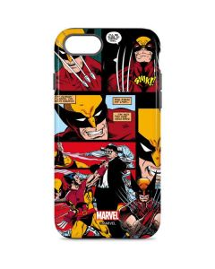 Wolverine Comic Collage iPhone 7 Pro Case