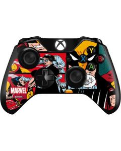 Wolverine Comic Collage Xbox One Controller Skin