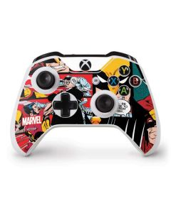 Wolverine Comic Collage Xbox One S Controller Skin