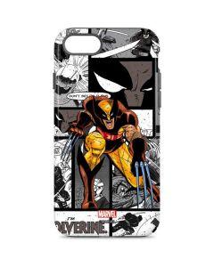Wolverine Comic Strip iPhone 8 Pro Case