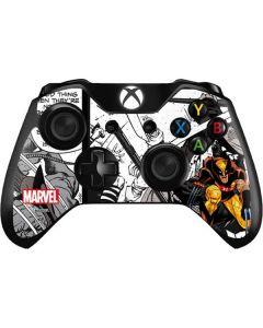Wolverine Comic Strip Xbox One Controller Skin