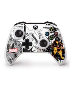 Wolverine Comic Strip Xbox One S Controller Skin
