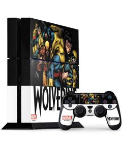 Wolverine Eras PS4 Console and Controller Bundle Skin