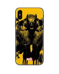 Wolverine Rage iPhone XS Max Skin
