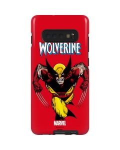 Wolverine Ready For Action Galaxy S10 Plus Pro Case