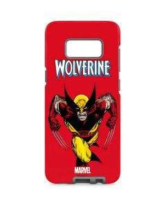 Wolverine Ready For Action Galaxy S8 Pro Case