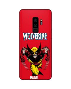 Wolverine Ready For Action Galaxy S9 Plus Skin