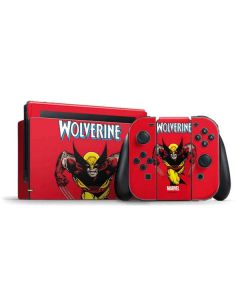 Wolverine Ready For Action Nintendo Switch Bundle Skin