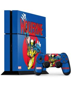 Wolverine Weapon X PS4 Console and Controller Bundle Skin