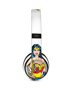 Wonder Woman Beats Solo 2 Wired Skin
