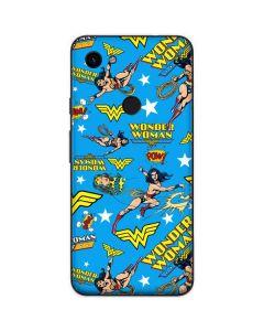 Wonder Woman Blast Google Pixel 3a Skin