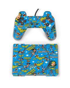 Wonder Woman Blast PlayStation Classic Bundle Skin