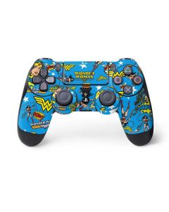 Wonder Woman Blast PS4 Pro/Slim Controller Skin