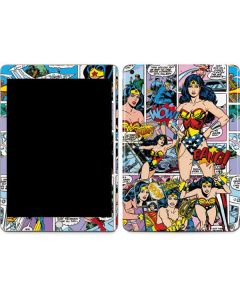Wonder Woman Comic Blast Apple iPad Skin