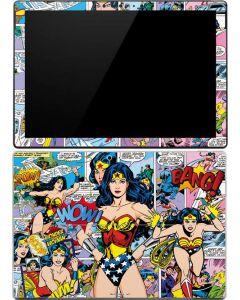 Wonder Woman Comic Blast Surface Pro (2017) Skin