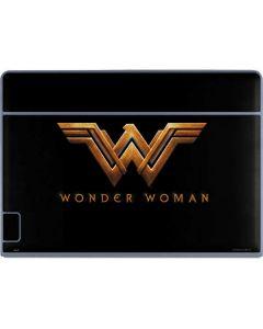 Wonder Woman Gold Logo Galaxy Book Keyboard Folio 12in Skin