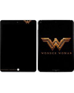 Wonder Woman Gold Logo Apple iPad Skin