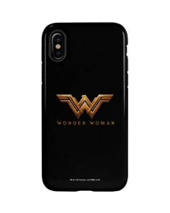 Wonder Woman Gold Logo iPhone XS Max Pro Case