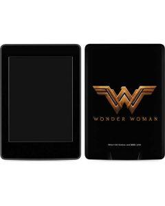 Wonder Woman Gold Logo Amazon Kindle Skin