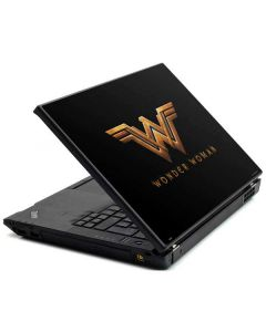 Wonder Woman Gold Logo Lenovo T420 Skin
