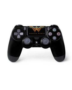 Wonder Woman Gold Logo PS4 Pro/Slim Controller Skin