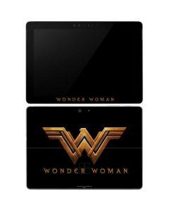 Wonder Woman Gold Logo Surface Go Skin