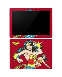 Wonder Woman in Action Surface Go Skin