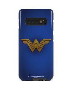 Wonder Woman Large Logo Galaxy S10 Plus Pro Case