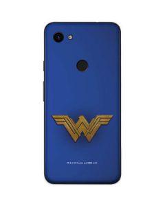 Wonder Woman Large Logo Google Pixel 3a Skin