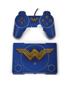 Wonder Woman Large Logo PlayStation Classic Bundle Skin