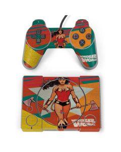 Wonder Woman Multi Color PlayStation Classic Bundle Skin