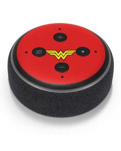 Wonder Woman Official Logo Amazon Echo Dot Skin