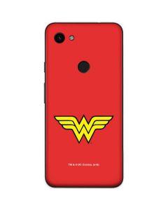 Wonder Woman Official Logo Google Pixel 3a Skin