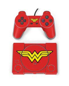Wonder Woman Official Logo PlayStation Classic Bundle Skin