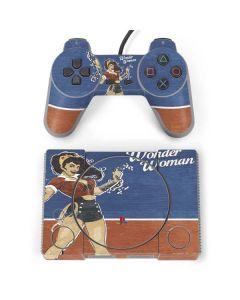 Wonder Woman PlayStation Classic Bundle Skin