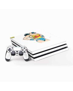 Wonder Woman PS4 Pro Bundle Skin