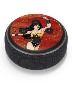 Wonder Woman Ready to Fight Amazon Echo Dot Skin