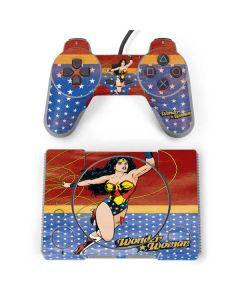 Wonder Woman Ready to Fight PlayStation Classic Bundle Skin