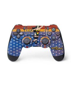 Wonder Woman Ready to Fight PS4 Controller Skin