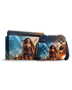 Wonder Woman Unconquerable Warrior Nintendo Switch Bundle Skin