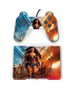 Wonder Woman Unconquerable Warrior PlayStation Classic Bundle Skin