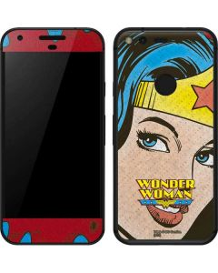 Wonder Woman Vintage Profile Google Pixel Skin