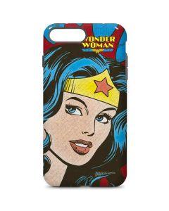 Wonder Woman Vintage Profile iPhone 8 Plus Pro Case