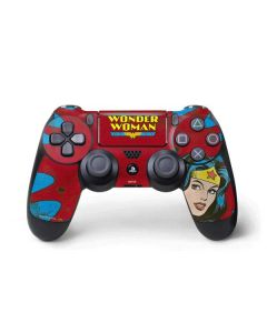 Wonder Woman Vintage Profile PS4 Pro/Slim Controller Skin